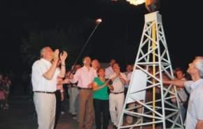 En la Villa Cremades, de Pocito, inauguraron la red de gas que beneficia a 200 familias