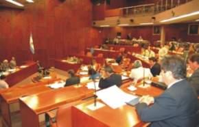 Diputados sesionando