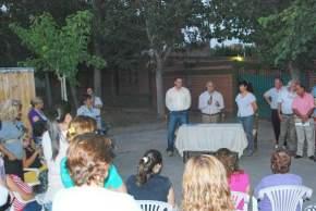 El Intendente Lima se reunió con vecinos de los barrios Solares I, II, III y IV