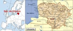 Estratégica ubicación geográfica de la República de Lituania