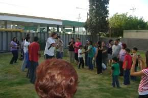 Distintas actividades recreativas y deportivas se desarrollaron en el Polideportivo de Rivadavia en el Día de la Discapacidad