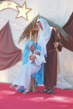 María, el niño Jesús y José