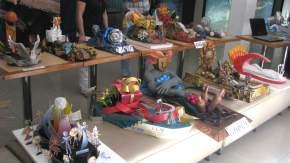 Parte de las maquetas durante la presentación en la Secretaría de Turismo de San Juan