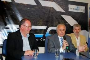 El intendente Marcelo Lima explica sobre la ampliación del ECO y el nuevo sistema que se implementará