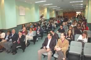 Entre los presentes, las autoridades de la Cámara de Diputados y funcionarios de Salud Pública de la provincia