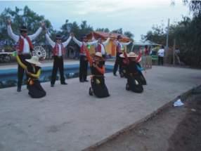 """Agrupación folklórica """"Paihuén"""" de Ovalle"""