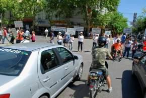 Efectuaron una campaña de concientización para evitar accidentes de tránsito