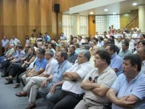 Productores presentes en la entrega de los certificados DRAF