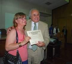 Se entregaron 115 certificados a vecinos del departamento Capital