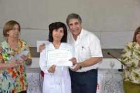 """Entregaron certificados a docentes de escuelas que son parte del proyecto """"Santa Lucía, con Gustito a Salud"""""""