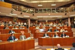 Los diputados electos en la sesión preparatoria