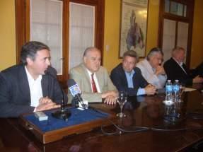 Dirige la palabra el presidente de OSSE, Adrián Cuevas