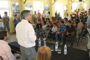 El ministro Daniel Molina presidió el cierre del año de los Talleres de Entrenamiento para el Trabajo