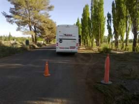 Todos los transportes que circulen con destino a Veladero o al proyecto Lama, en Iglesia, son controlados por la patrulla