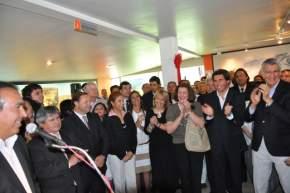 Habla el ministro Dante Elizondo en la puesta en funciones de funcionarios de Turismo y Cultura