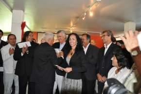 En la Dirección de Oficios para el Arte y Música Popular, la magíster Silvana Moreno, y como interventor del Ente Ischigualasto, José Torres