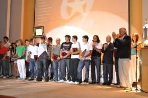 Los deportistas que fueron reconocidos en el 2011 de cada disciplina