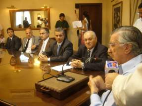 El gobernador José Luis Gioja destacó la constitución del Fideicomiso por el Rajo Argenta de MAGSA