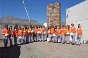 Las 19 postulantes a reina en el ingreso al emprendimiento Gualcamayo de MASA