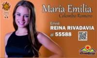 Candidata por Rivadavia
