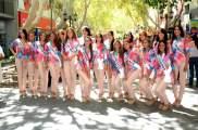 Las Candidatas a Reina de la FNS-2013 estuvieron en la Peatonal