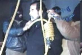 Saddam ahorcado