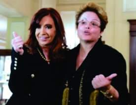 La Presidenta Cristina Fernández de Kirchner y su par de Brasil, Dilma Rousseff.