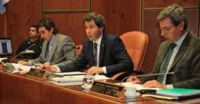 La sesión fue conducida por el presidente nato y vicegobernador, Sergio Uñac y alternó con el vicepresidente 1º Oscar Mallea