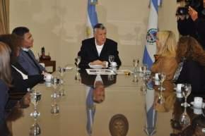 Informaron al gobernador Gioja sobre la realización de un Congreso Argentino de Farmacia Hospitalaria