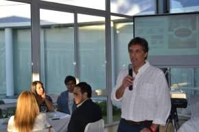 El secretario de Política Económica, Lic. Leonardo Gioja, en representación del ministro de Producción Marcelo Alós, realizó la apertura oficial del ciclo