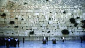 El Papa Francisco en el Muro de los Lamentos