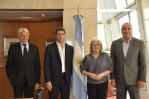 El gobernador Uñac se reunió con la canciller Susana Malcorra