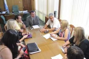 Reunión Municipio de Rivadavia y Ministerio de Desarrollo Humano