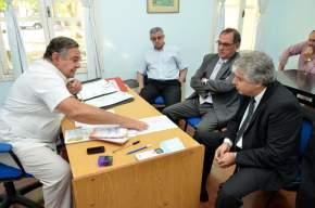 El ministro de Salud Pública de San Juan concurrió a centros sanitarios del interior provincial