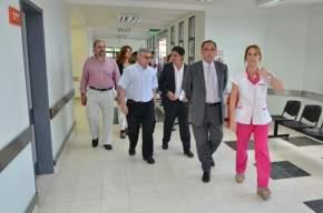 Visita a centros de salud