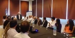 En el Ministerio de Producción se realizó un desayuno de trabajo con representantes de entidades bancarias