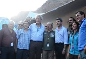 El gobernador Uñac en el Vivac