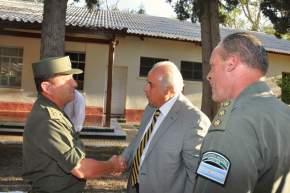 Lima saluda a jefes de Gendarmería