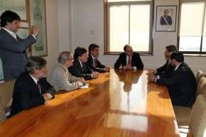 Reunión en la Intendencia de la Región de Coquimbo por el túnel de Agua Negra