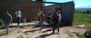 El ministro Allende visitó obras del CIC de Villa Pituil