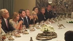 Cena en la Embajada de Chile