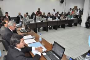 El Intendente Juan Carlos Gioja dio su discurso anual en la apertura de las sesiones 2016 del HCD de Rawson