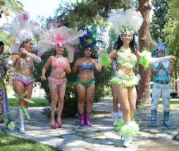 Presentación del Carnaval de Chimbas en Casa de Gobierno