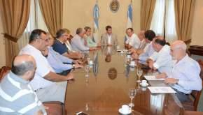 Empresarios se reunieron con el gobernador Uñac