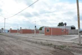 Los módulos habitacionales entregados en Chimbas