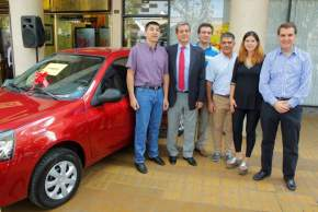 Entregan el 1º premio, el Renault Clío 0Km, a Antonio Ortiz