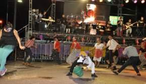 Por el escenario pasaron bandas locales