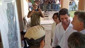 Uñac le muestra a Macri la zona cordillerana donde se encuentran