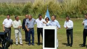 El presidente Mauricio Macri anuncia el fin de retenciones a la minería