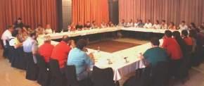 El Secretario de Deportes Jorge Chica se reunió con periodistas locales para informar actividades deportivas